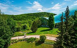 Blick zur Therme - Hotel an der Therme Bad Sulza in 99518 Bad Sulza