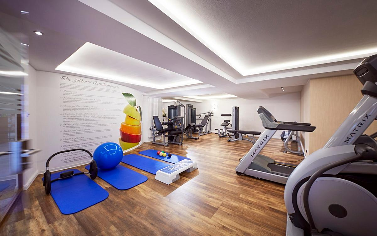 Fitnessraum - Göbels Hotel Quellenhof in 34537 Bad Wildungen