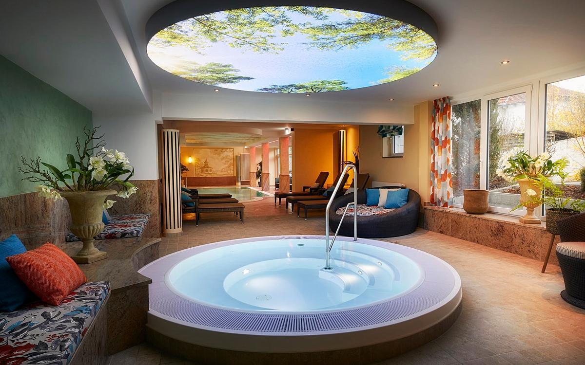 Einrichtung im g bel s hotel quellenhof bad wildungen for Hotel mit whirlpool im zimmer hessen
